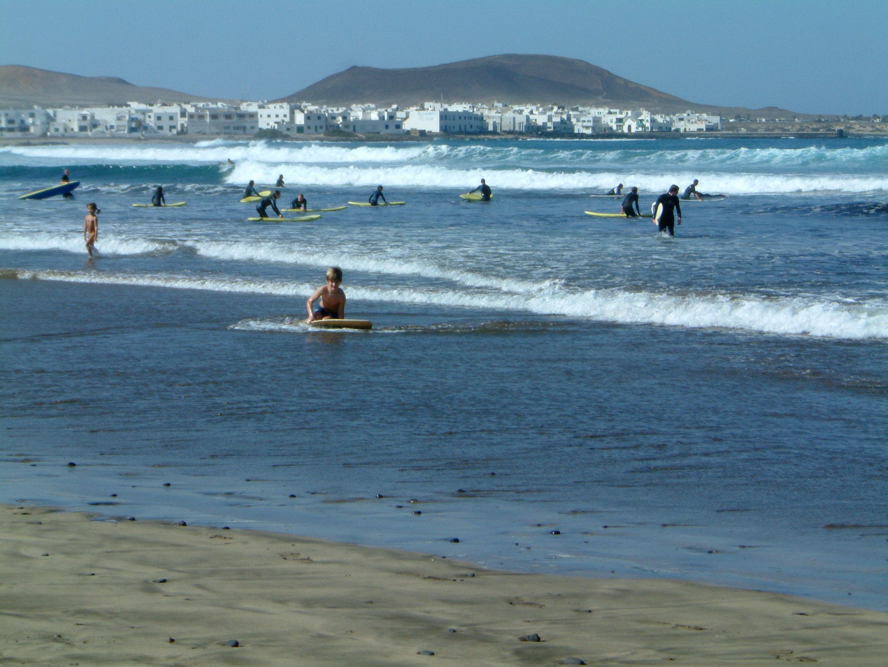 Famara Strand