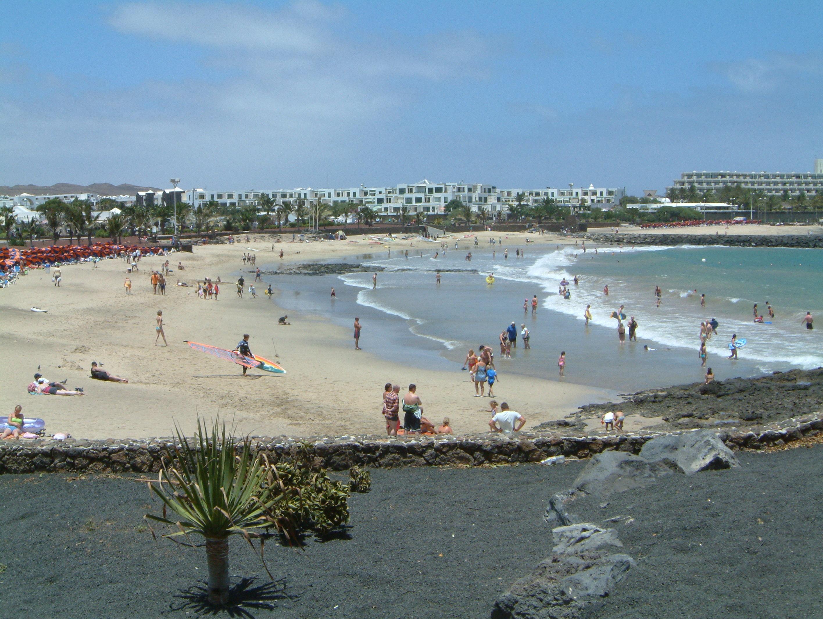 Las Cucharas Strand