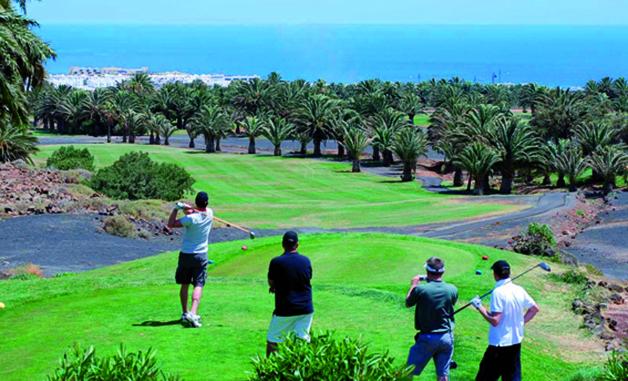 Costa Teguise Golf 18 Loch Golfplatz Lanzarote