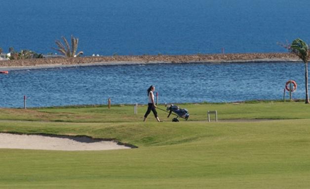 Der Lanzarote Golf Golfplatz in Puerto del Carmen