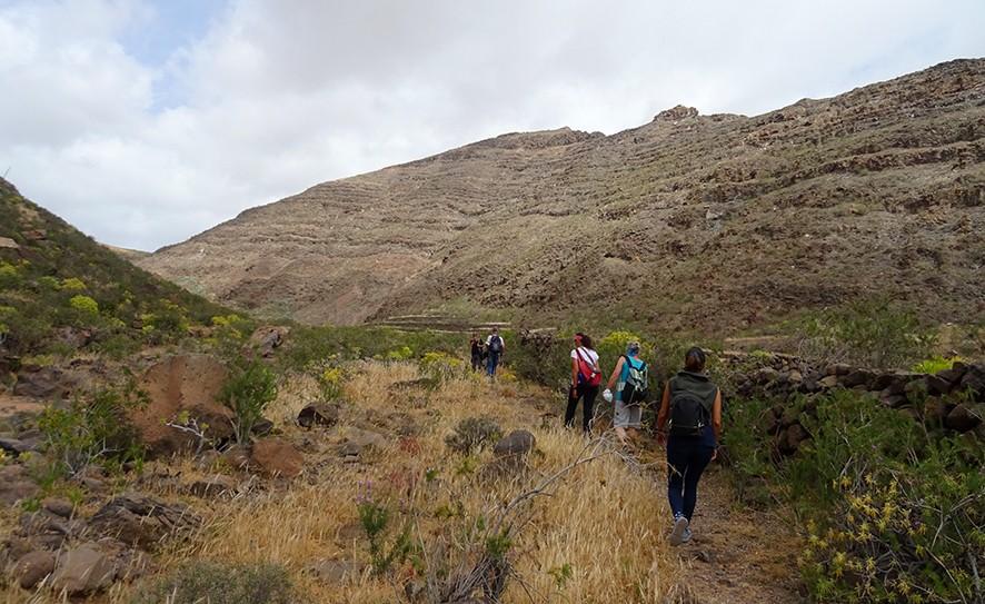 geführtes Wander im Tal