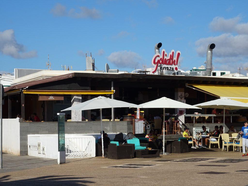 Das Goliath in Playa Honda