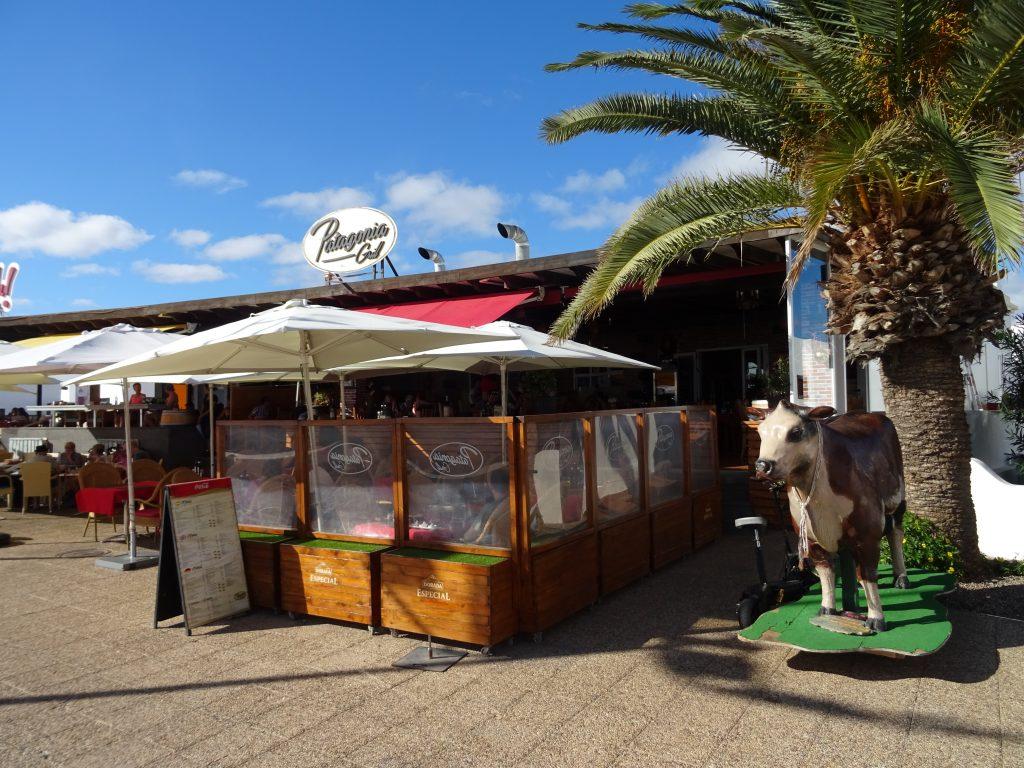 das Patagonia Grill Restaurant in Playa Honda