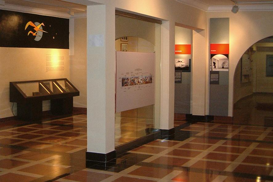Ausstellung im Flughafenmuseum