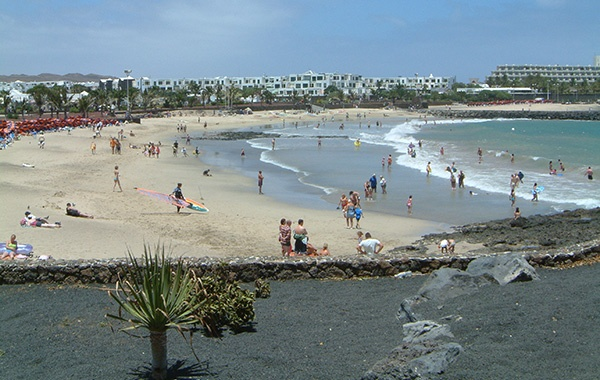 Cucharas Strand Costa Teguise