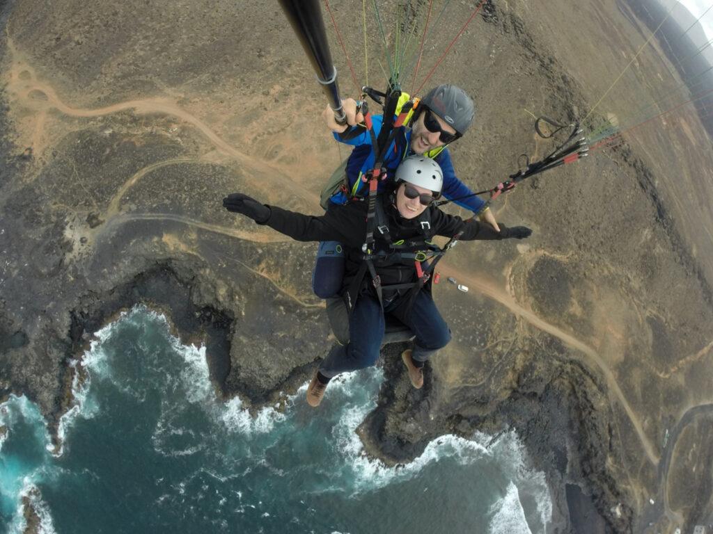 paragliding Lanzarote