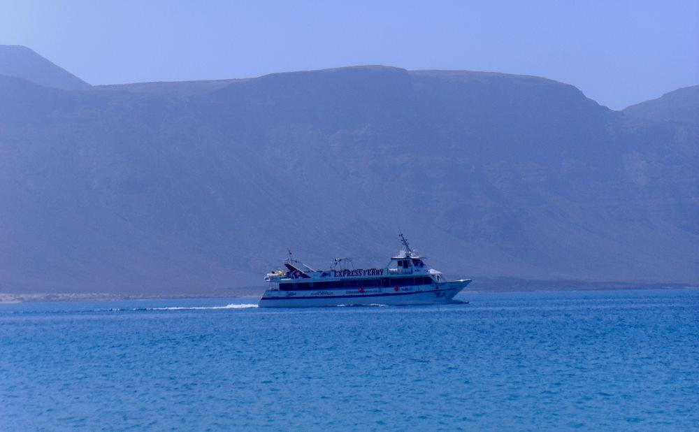 Ausflug Insel La Graciosa Fähre