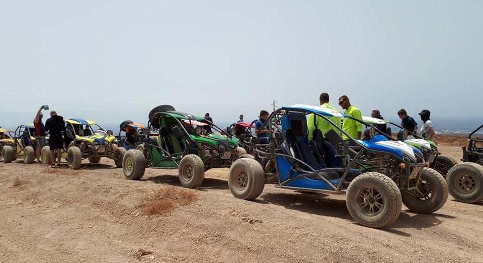 buggy driving Lanzarote