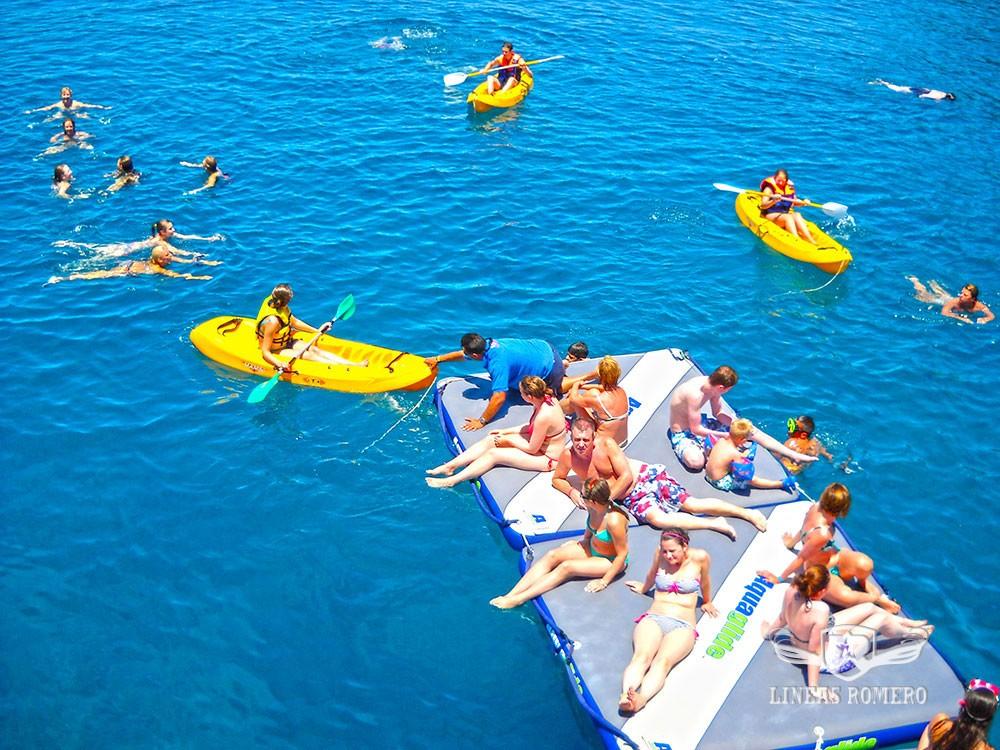 Bootausflüge Lanzarote: Badestop inklusive