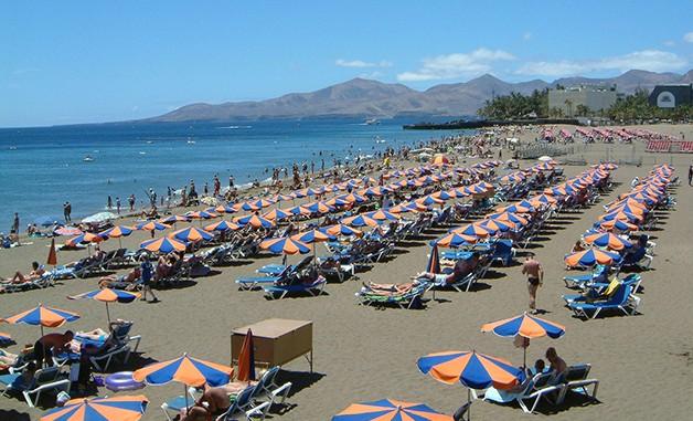 Playa Grande in der Gemeinde Tías