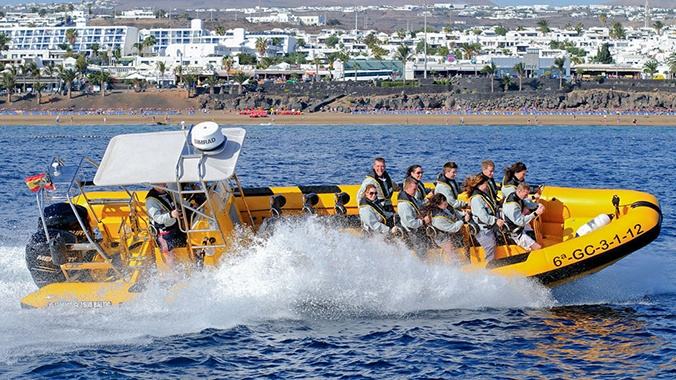 Waverider Lanzarote Speedboot Tour